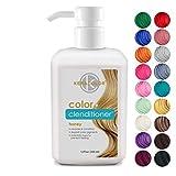 Keracolor Clenditioner HONEY Hair Dye - Depositing Color Conditioner Colorwash, Semi Permanent, Vegan and Cruelty-Free, 12 fl. Oz.