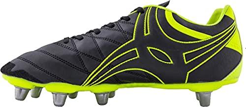 Gilbert Sidestep X9 Rugby-Stiefel, Schwarz - Schwarz - Größe: 49 EU