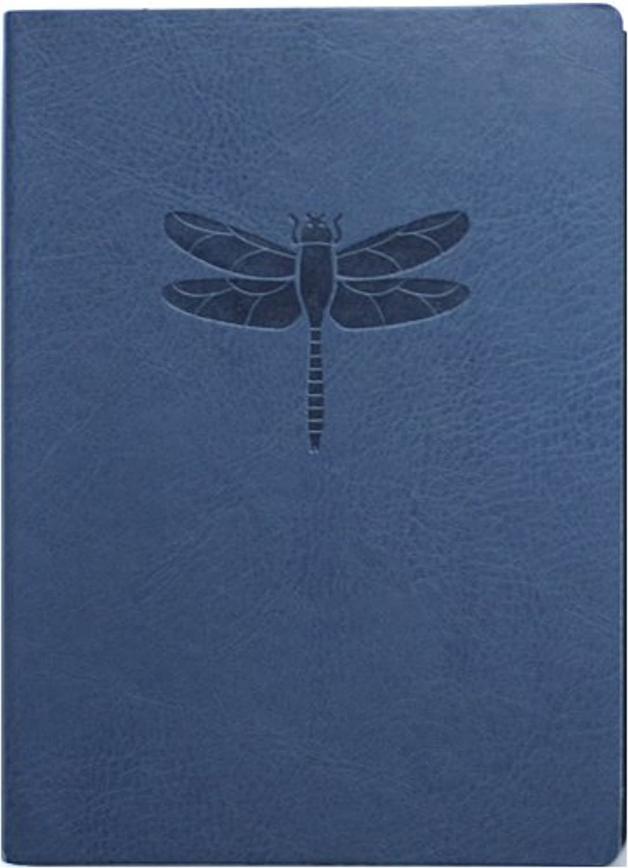 Eccolo World Traveler D303L Schreibtagebuch, 256 linierte Seiten, flexibler Kunstlederbezug, Libelle B000OMIL0K | Verkauf Online-Shop