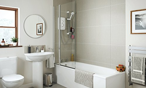 Mira Showers 1.1788.010 Jump Multi-Fit 8.5 kW Electric Shower - White/Chrome