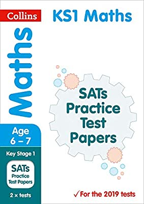 KS1 Maths SATs Practice Test Papers: 2019 tests (Collins KS1 SATs Practice) by Collins
