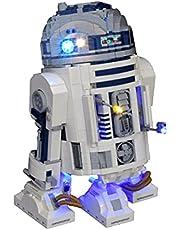 SENG Ledverlichtingsset voor Star War R2-D2, compatibel met Lego 75308 (model niet inbegrepen)