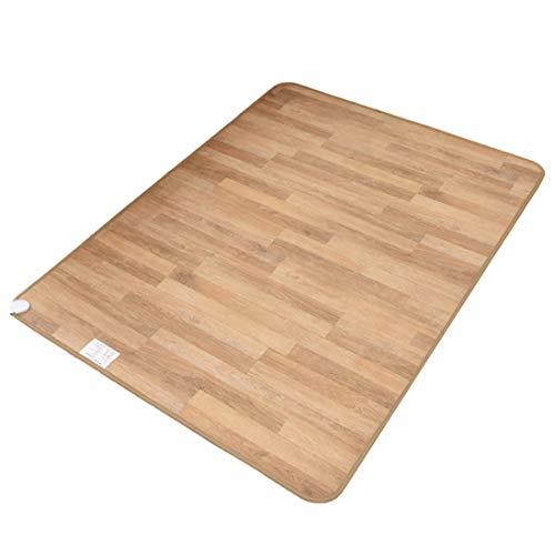 Fußbodenheizmatte Multifunktions-Heizdecke, Wärmeunterbett Fußbodenheizung aus Kohlenstoffkristall Leder Elektroheizung, Fußbodenheizmatte Schnellheizung