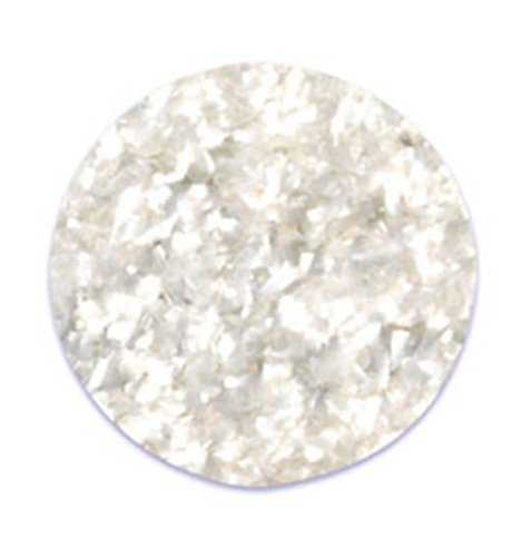 Oasis Supply Natural Edible Glitter, Cake Dust & Cupcake Decorating Bling (Clear)