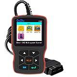 Creator C502 OBD2 Diagnostic Scanner Mercedes-Benz Check Engine Light EPB ABS SRS Multi-System Code Reader OBD II Communication Modes 1-10