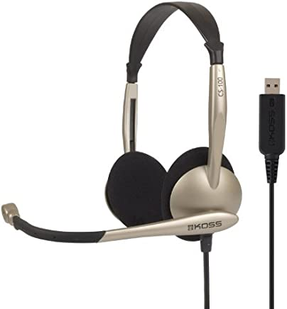 Koss Communications USB Headset with Microphone (CS100-USB)