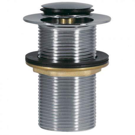 Plata V/álvula Desag/ües para Lavabos y Bid/és Ibergrif M20503 Click-Clack Desag/üe Universal con 60.5 /Ø