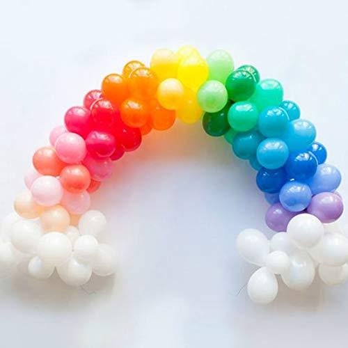 gay wedding decor rainbow balloons kit