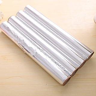 Tapis de cuisson et plaque à pâtisserie CCR 5 PCS de Bakest Aluminium Tin Foil Papier Barbecue tapis de cuisson anti-adhésive