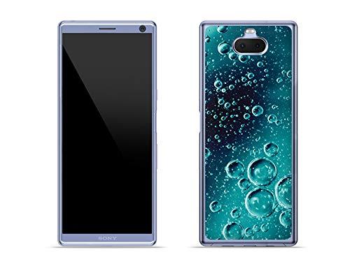 etuo Handyhülle für Sony Xperia 10 Plus - Hülle Foto Hülle - Tröpfchen - Hülle Schutzhülle Etui Hülle Cover Tasche für Handy