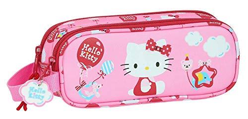 Trousse Double Hello Kitty 210 x 60 x 80 mm