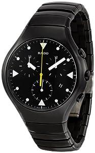 Rado Men's R27815162 True Black Black Ceramic Bracelet Watch image