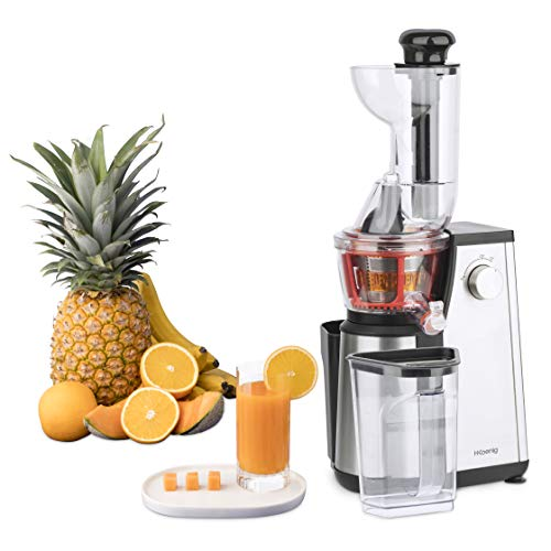 puissant Presse-fruits vertical GSX24 Centrifugeuses H. Koenig Sans vitamine + BPA -…