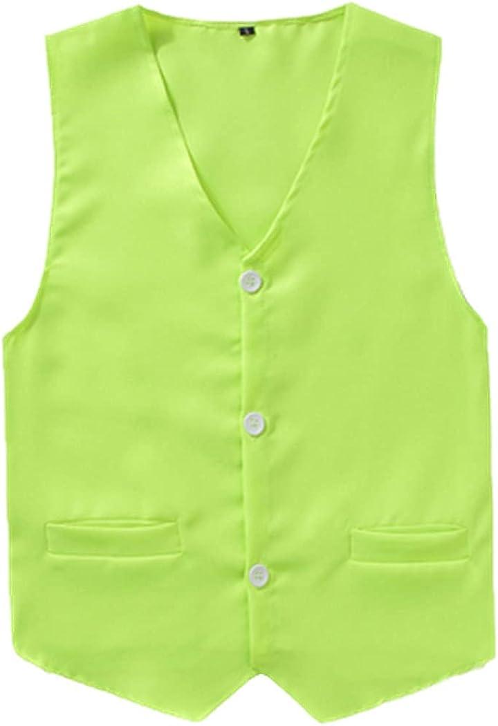 discount Men Vest Bargain sale Child Adult Work Wear Soild Volunteer Universal Color O