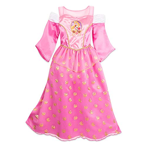 Disney Aurora Sleep Gown for Girls - Sleeping Beauty Size 9/10 Multi