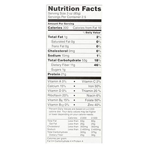 Tolerant Foods - Organic Red Lentil Pasta, Simply Legumes, Rotini – 8 Oz (6 Pack)