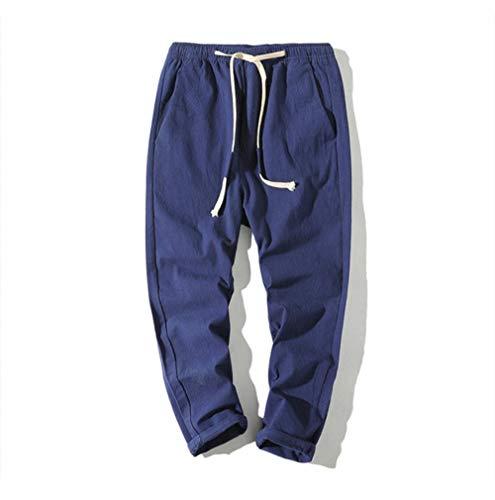 TUOP Streetwear Casual Slanke Mannen Broek Zwart Harem Broek Multi-Pocket Linten Man Sweatpants