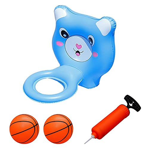 BIUDUI Pool Spielzeug Basketball Aufblasbar Wasserspielzeug Wasserspiel PVC Kinder Badewannenspielzeug Aufblasbares Poolschießspielzeug Für Kinder Im Freien