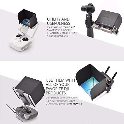 CHENJUAN For dji Mavic Mini/Mavic Pro 2 / Controlador de Zoom Cubierta del Monitor Sun Capucha Parasol for dji Mavic Pro/Aire/Spark/Phantom 4 Pro Piezas de Repuesto (Color : L220)