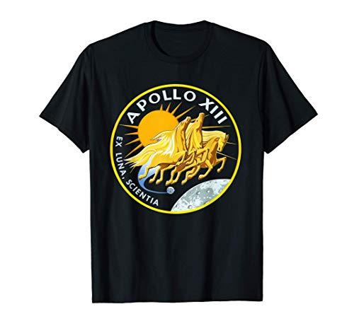 Nasa Apollo 13 Mission Badge Men's T-Shirt Maglietta