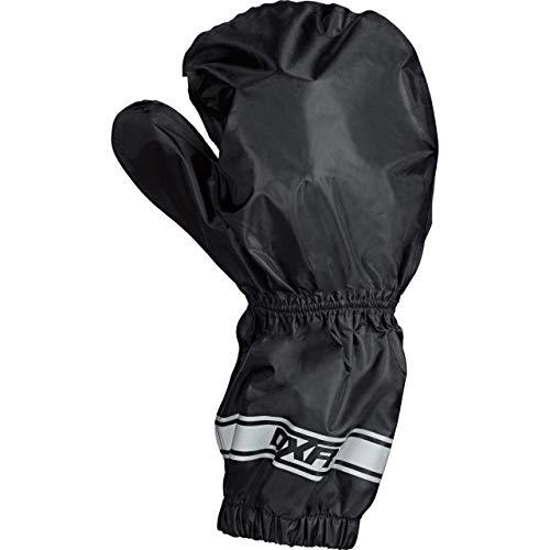 DXR Regenhandschuhe Motorrad wasserdicht Regen-Überziehhandschuh, wasserdicht, Ganzjahres-Wetterschutz, verschweißte Nähte, Innenhandverstärkung, Schwarz L