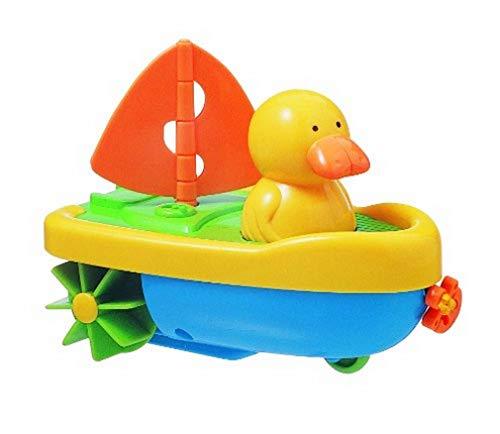 Tigex Jouet de Bain Nageur à Fil Captain Duck