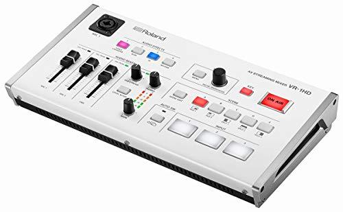 "Roland VR-1HD AV Streaming Mixer, Plug-and-Play""-Übertragungsstudio"""