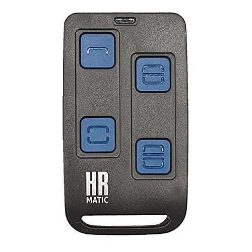 Mando Garaje Universal HR MATIC MULTI 3 Compatible Para Frecuencias 433Mhz u 868Mhz Capaz De Unificar 4 Mandos En 1