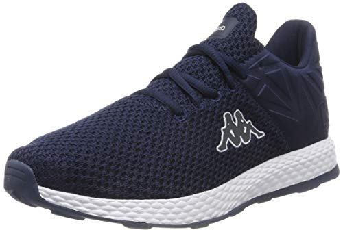 Kappa Unisex-Erwachsene Hector Sneaker, Blau (Navy/White 6710), 42 EU