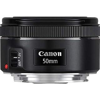 Canon 0570C005AA - Objetivo para cámara réflex (EF 50 mm, F/1.8 STM), color negro (B00XKSBMQA) | Amazon price tracker / tracking, Amazon price history charts, Amazon price watches, Amazon price drop alerts