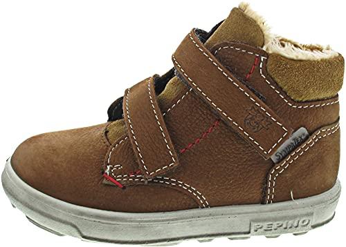 RICOSTA Jungen Boots Alex von Pepino, Weite: Mittel (WMS),Sympatex,terracare,Outdoor-Kinderschuhe,gefüttert,Kids,Curry (262),26 EU / 8.5 Child UK