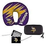 NFL Minnesota Vikings 4-Piece Travel Set, 13' x 3' x 12'