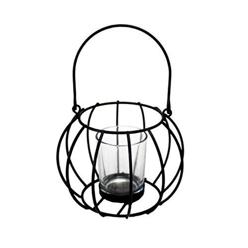HNLHLY Portacandele Best Candlestick Home Decoration Light Candeliere Vento Light Armadio da Vino in...