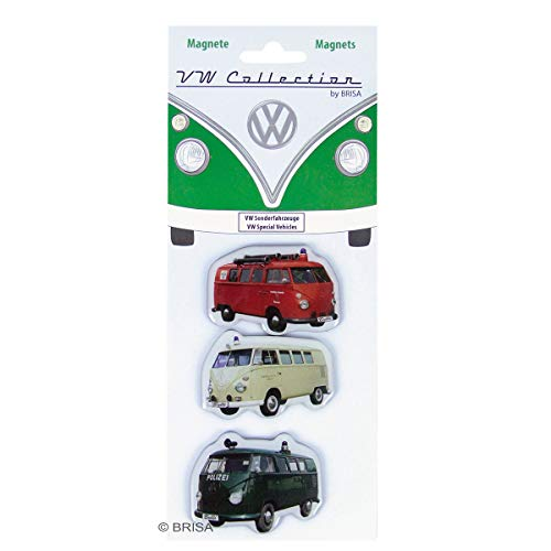 BRISA VW Collection Volkswagen T1 Bus Transporter Magneet 3-pc Set - Special Vehicle