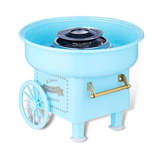 jaspenybow Zuckerwattemaschine Für Zuhause | Retro Cotton Candy Machine Für Geburtstagsfeier Fiesta Kommerziell Zuhause