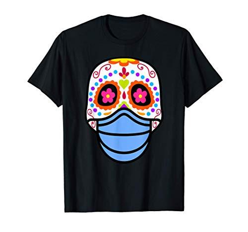 Calavera de Azucar Mexicana Dia de Muertos Halloween 2020 Camiseta