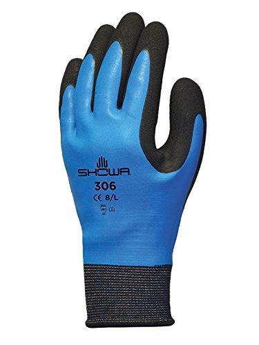 Showa SHO306-XL - Guantes de esquí (talla XL), color azul y negro