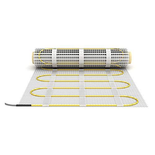 Heizmatte 160W/m² 50cm 2m² Elektrische Fußbodenheizung Heizung Bad Fliesen