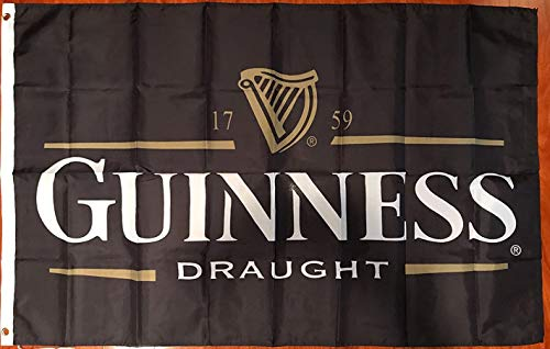 Faylagee-yx Guinness Traditional Draught Beer Flag 3' X 5' Indoor Outdoor Banner