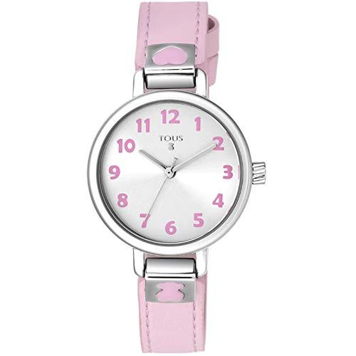 Reloj Tous Dream para niña, con Correa de Piel Rosa, 900350205.