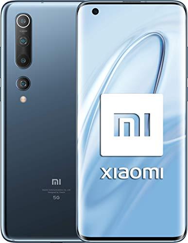 Xiaomi Mi 10 8GB+128GB Twilight Grey ohne Simlock, ohne Branding, Blau