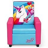 Delta Children JoJo Siwa High Back Upholstered Chair, 17.86 Oz