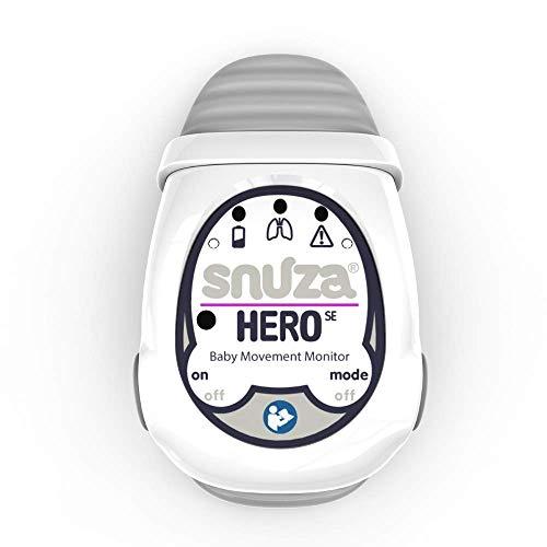 Snuza Hero SE - Portable, Wearable Baby Movement Monitor with...