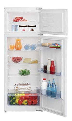 Beko Réfrigérateur-congélateur encastrable BDSA250K2S - A+ - 223 L - 145 cm - Technologie MinFrost