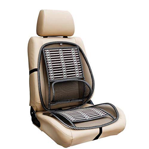 QLL Auto Sitzbezug Sommer-Auto Sitzbezug Kissen Massagekissen Atmungsaktiv Gemütlich Universal Vordersitz (1 Stücke),Gray