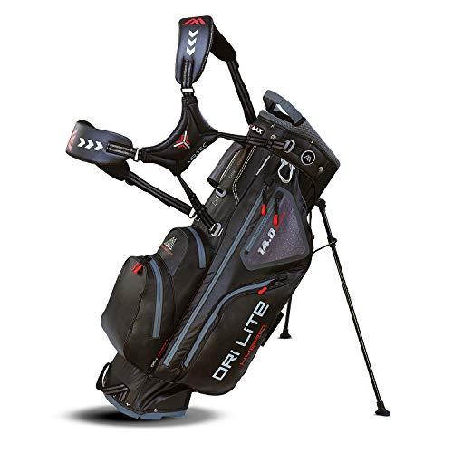 Big Max Dri Lite HYBRID Golf Cartbag & Standbag - Wasserabweisend - 2019 - Black