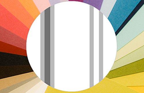 Modern gestreept behang Au Cirque - vliesbehang strepen verschillende kleuren - klassieke wanddecoratie - GMM Design behang - wandbehang - wand decoratie (baanbreedte: 46,5 cm) Fijne strepen. • MUSTER (20cm) Eigene Farbe
