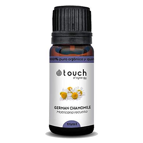 Aceite esencial de Manzanilla alemana (Matricaria recutita) 100% Puro, orgánico y quimiotipado (11mL)