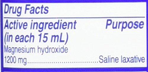 Phillips' Milk of Magnesia Liquid Laxative, Wild Cherry, 26 oz, Cramp Free & Gentle Overnight Relief Of Occasional Constipation, #1 Milk of Magnesia Brand