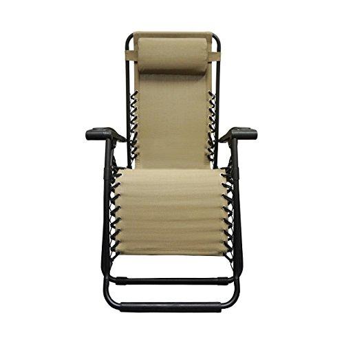 Caravan Sports Infinity Zero Gravity Chair, Beige